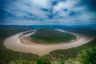 黄河乾坤湾风光图片