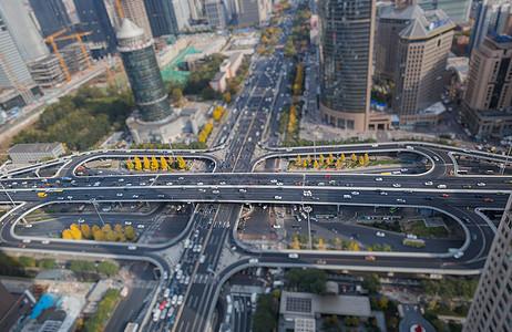 繁华的北京国贸桥图片