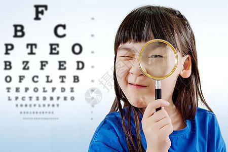 孩子视力测试图片