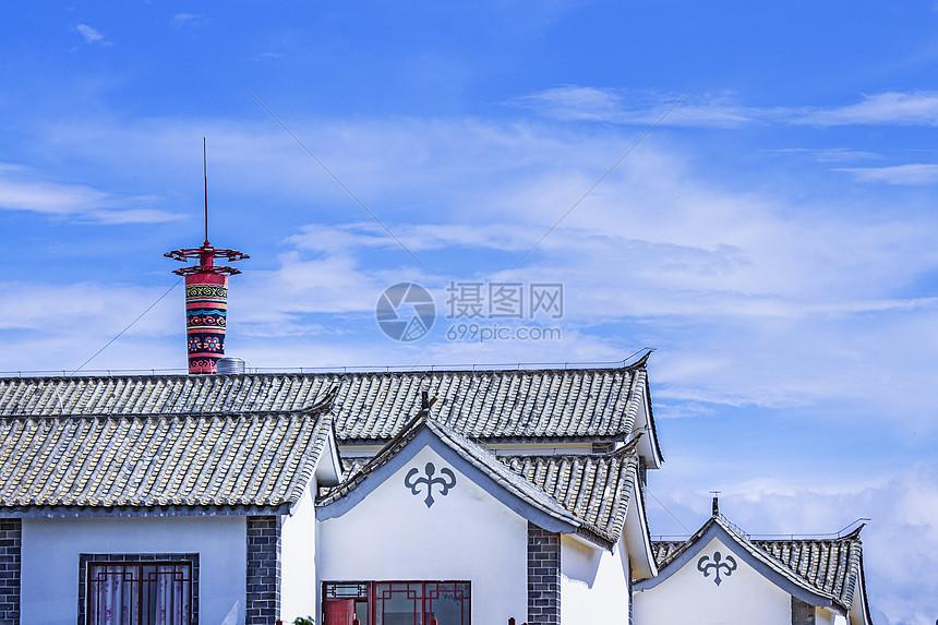大理喜洲白族建筑民居图片