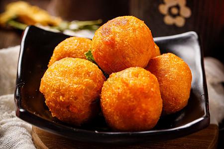 土豆丸子图片