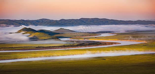 黄河九曲图片