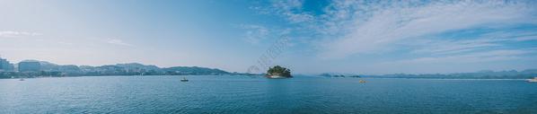 千岛湖风景区全景图片