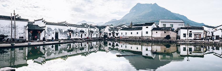 新叶古村全景图片