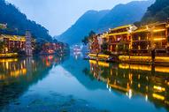 湖南凤凰古城万名塔图片