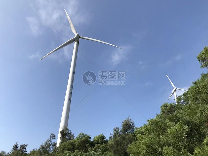 南澳风车图片