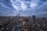现代城市大连夜景图片