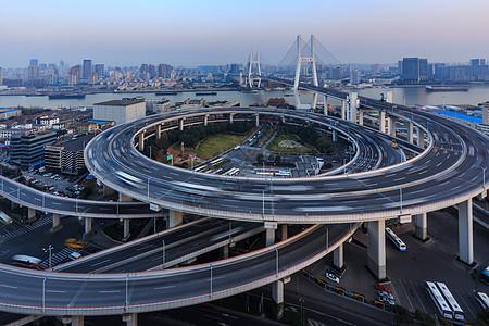上海南浦高架桥图片