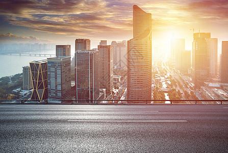城市建筑路面地面背景图片
