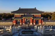 北京天坛公园祈年殿图片