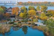 江苏南京玄武湖秋色迷人图片