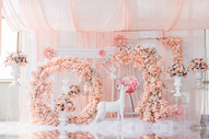 婚礼布置场景图图片
