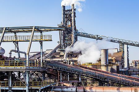 工业工厂高炉图片