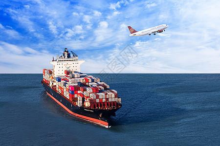 海上贸易运输图片