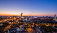北京鸟巢国家体育馆夜景图片
