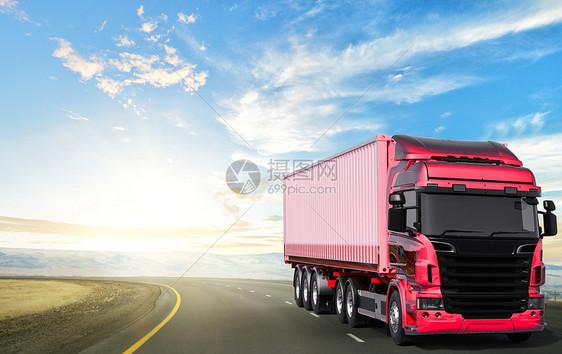 公路物流运输图片