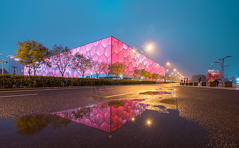 北京水立方图片