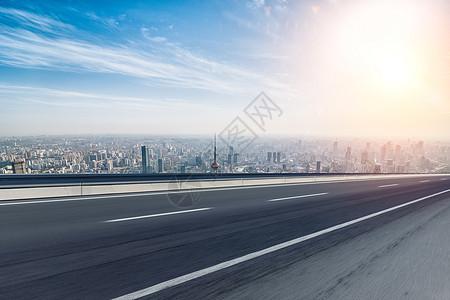 城市建筑路面背景图片