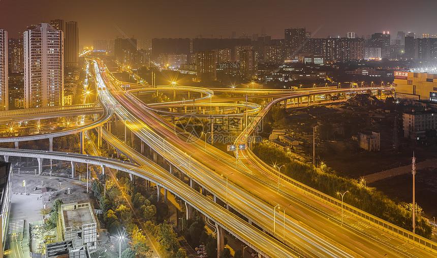 立交桥夜景