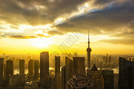 上海陆家嘴全景图片