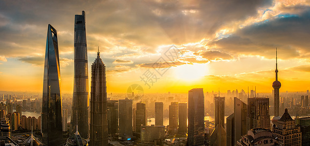 上海陆家mouth全景picture