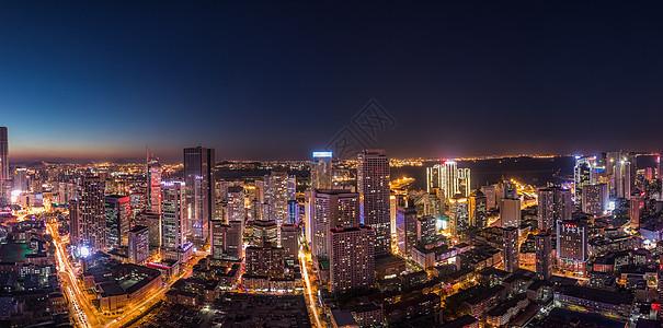 大连东港夜景图片
