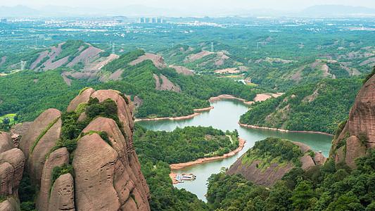 龙虎山圭峰奇石图片