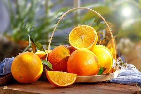 香甜橙子图片