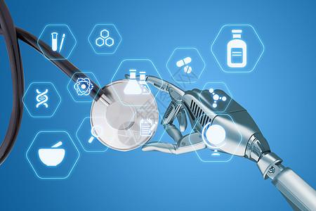 机器人医疗科技图片