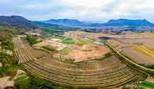富饶的乡村田园风光图片