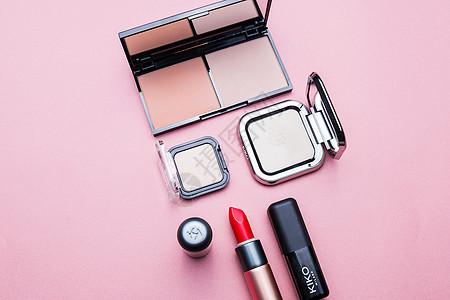 化妆品创意组合图片