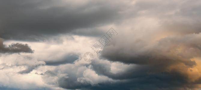 积雨云素材图片