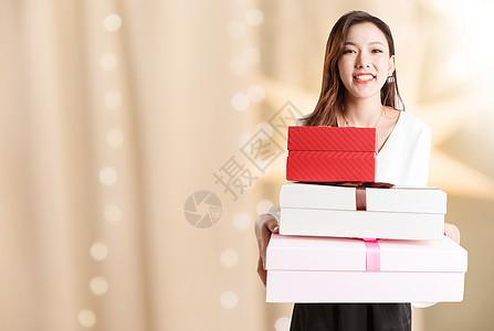购物女士图片