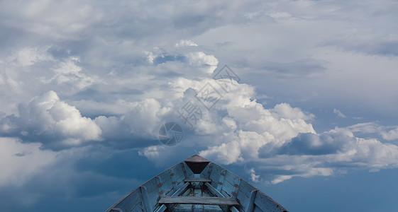 天空梦想之船图片