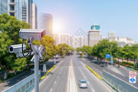 公路上的网络信息安全监控图片