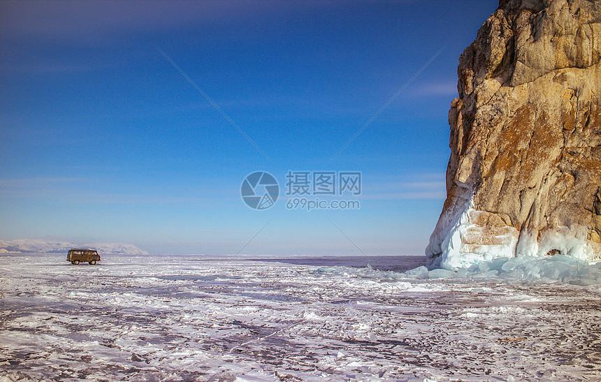 壮观大气的冰湖图片