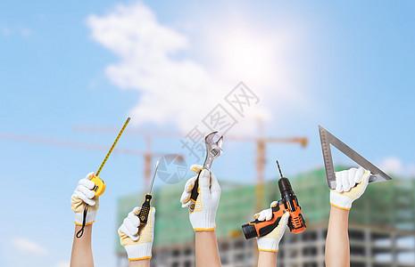 工地建设设备图片