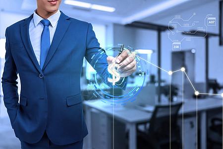 互联网金融商务图片