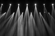 舞台的灯光图片
