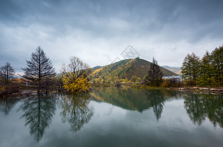阿尔山秋天风景图片
