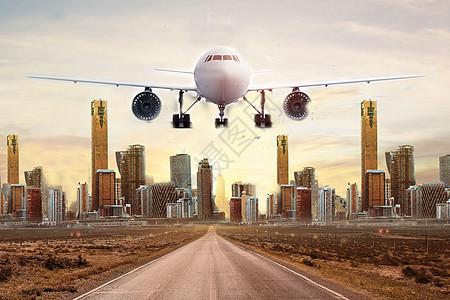 城市航空运输图片