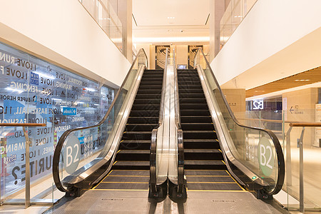 商场广场手扶电梯图片