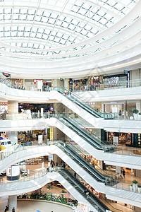 城市商圈商场购物环境图片