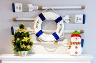 圣诞节布置的儿童房图片