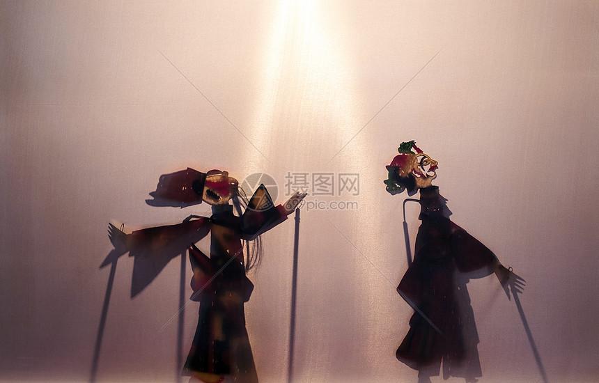 中国元素皮影戏图片