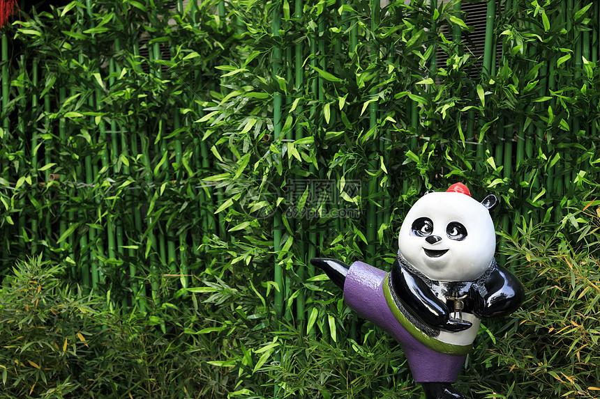 中国元素的熊猫图片