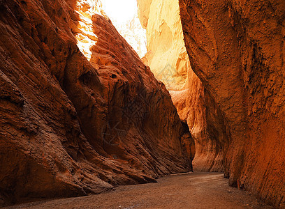新疆天山大峡谷图片