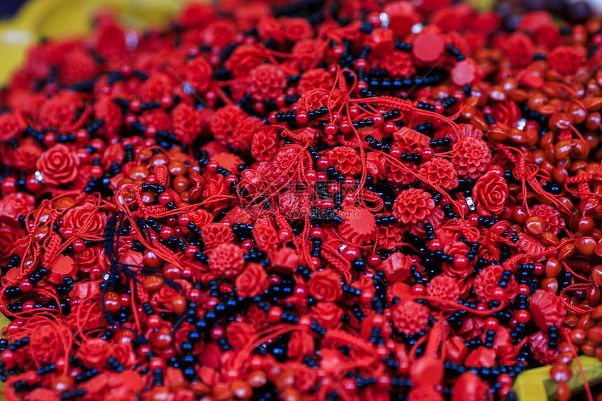 红色的小串串图片