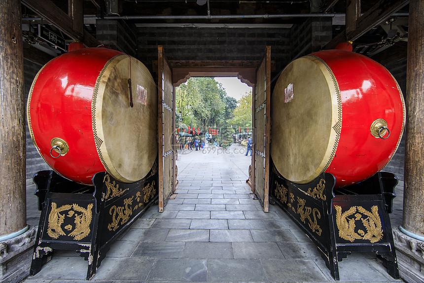 中国元素的鼓图片