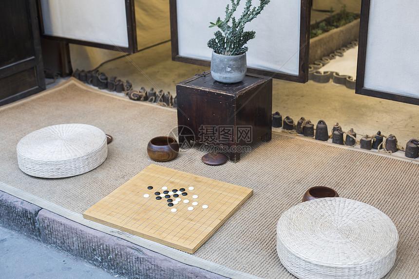 中国元素围棋图片